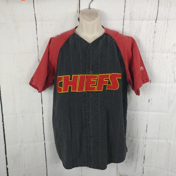 ac5576db Vintage Mirage Kansas City Chiefs Baseball Jersey